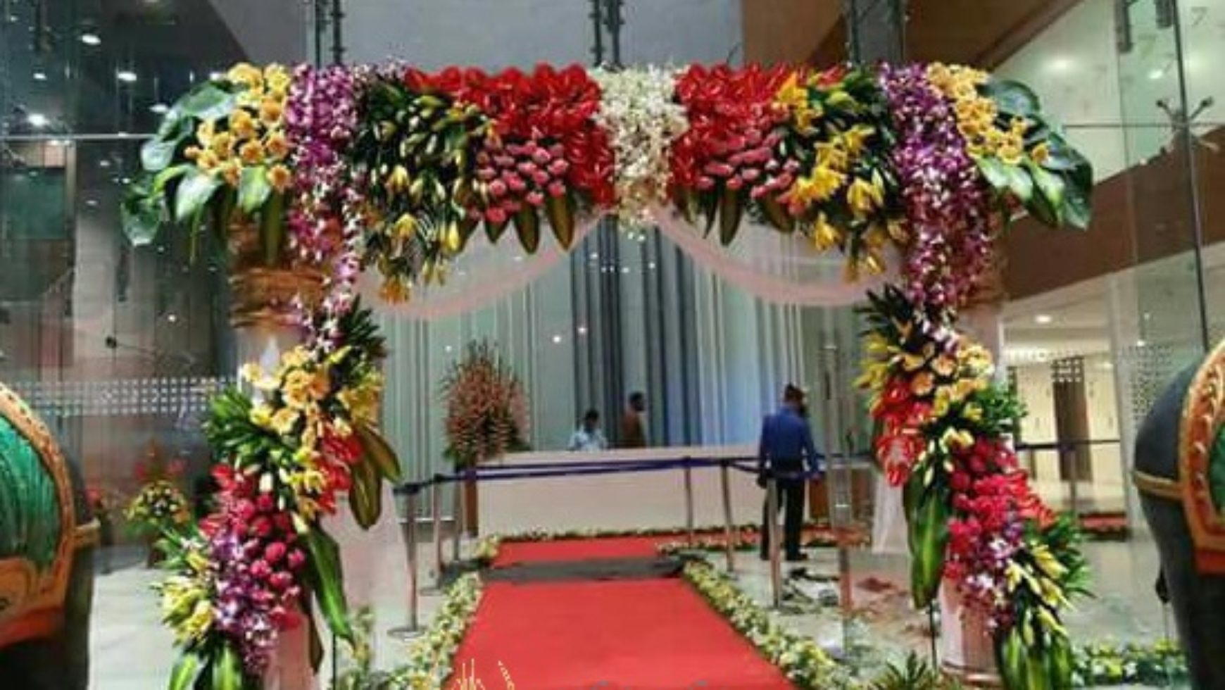 Flowers for Indian wedding
