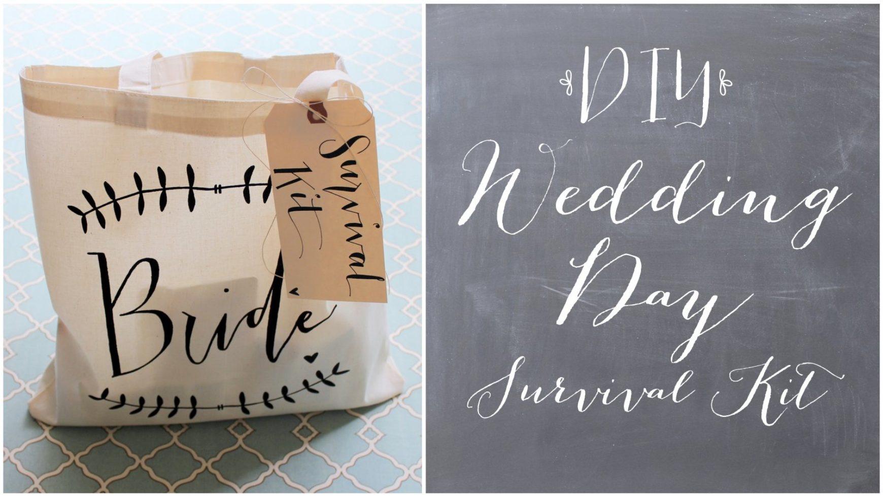 Every Bride Wedding Survival Kit