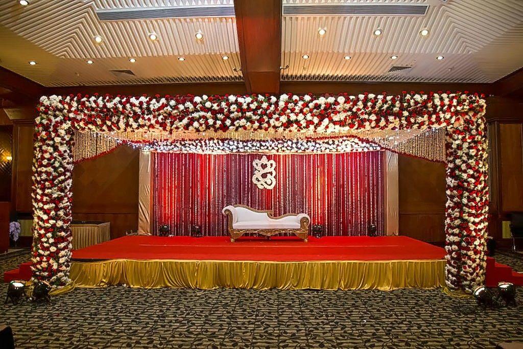 Wedding stage decoration ideas | Chinchin Celebration