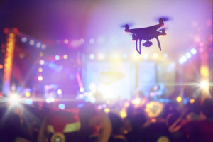 drone for event planning