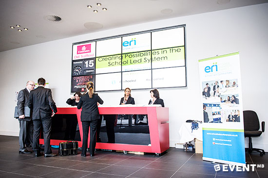 digital signage , event branding