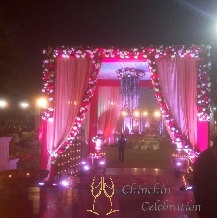 wedding, wedding entrance, wedding decoration