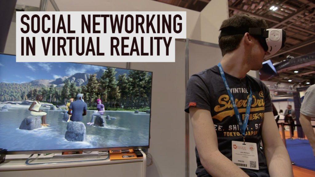 virtual reality , social media for vr