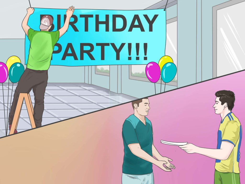 birthday party, birthday venue