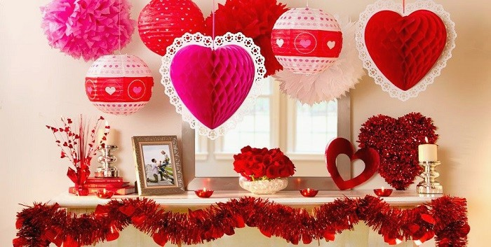Valentine's Week Decoration Surprises for Your Love