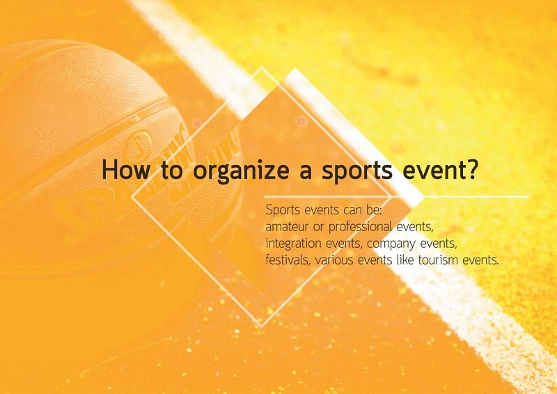 How To Organize A Sports Event