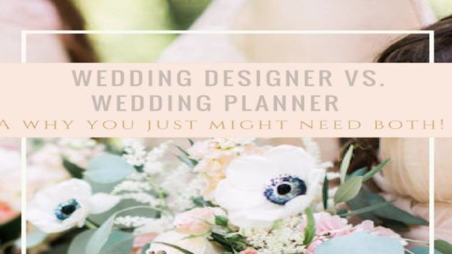 Wedding Planner Vs Wedding Designer